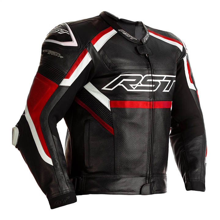 2461 TRACTECH EVO R LEATHER JACKET