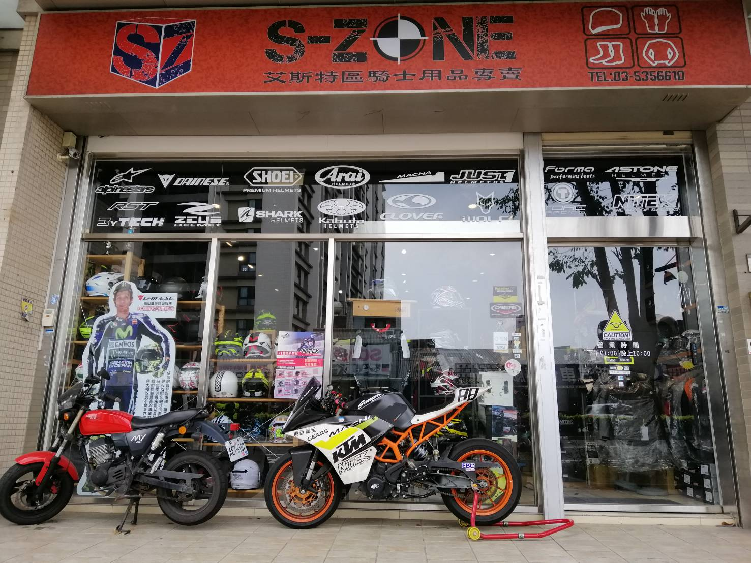 【新竹-S-Zone 艾斯特區】訊息量爆炸的騎士裝備專賣店